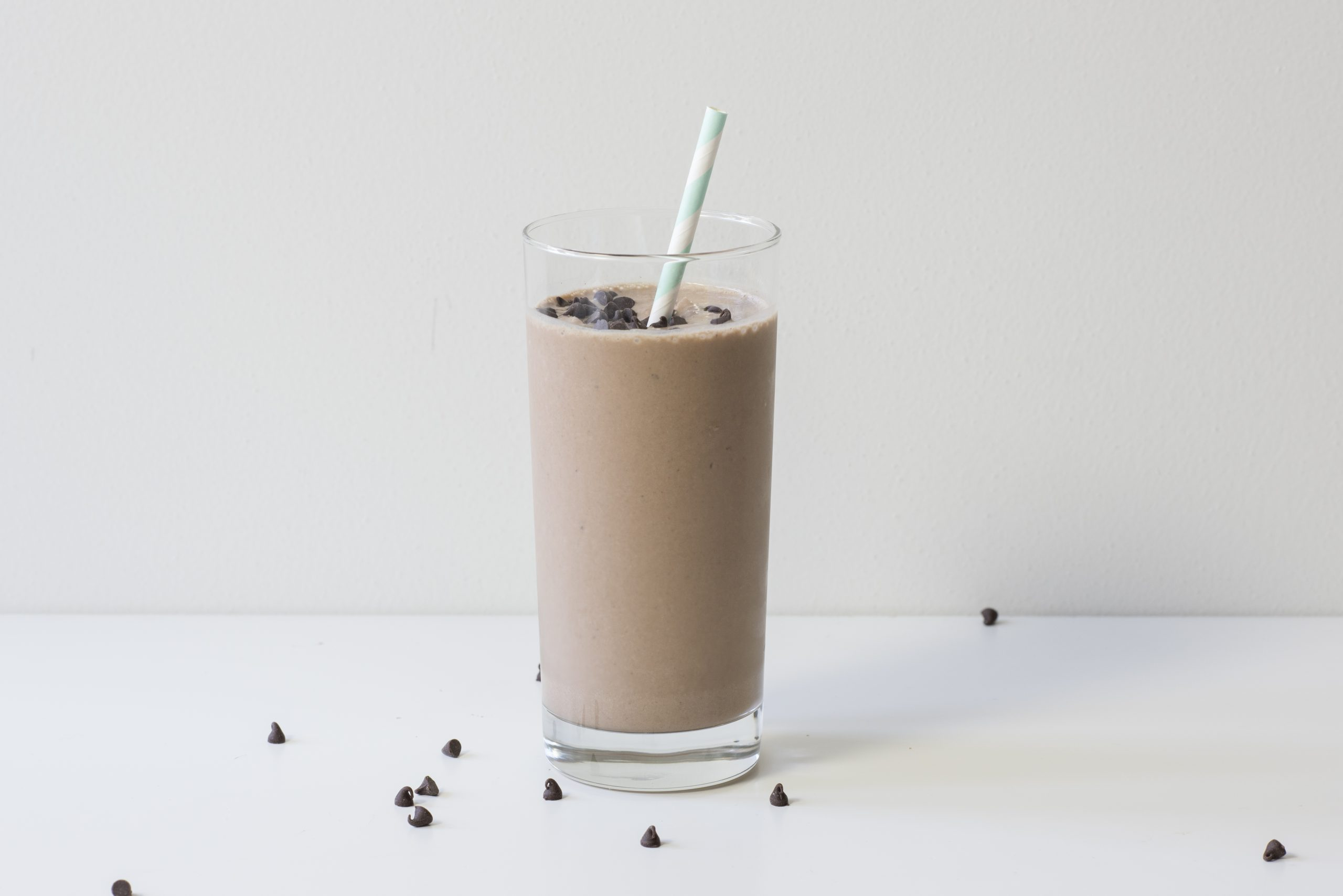 Smoothie made from Roasted Chickpea Powder