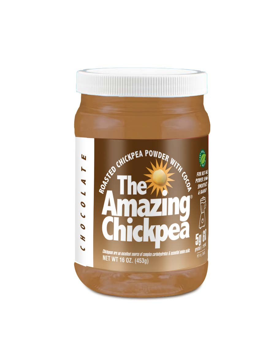 The Amazing Chickpea Roasted Chickpea Powder with Cocoa