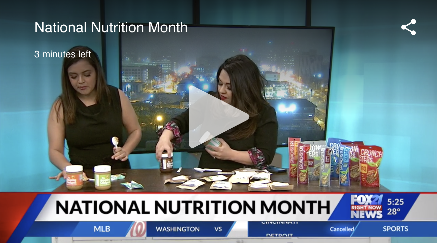 National Nutrition Month on FOX 21 – Colorado Springs, CO