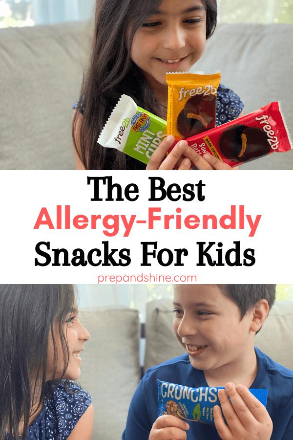 Best Allergy Friendly Snacks for Kids // Prep and Shine