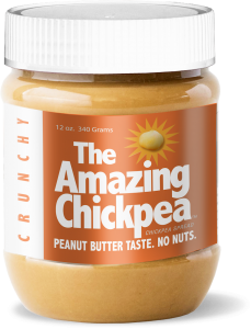 The Amazing Chickpea Butter - Crunchy