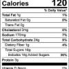 TAC Cookie Mix 7.5 oz PPC Nutrition Facts