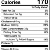 The Amazing Chickpea Pancake Mix Nutrition Facts