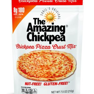 The Amazing Chickpea Pizza Crust Mix