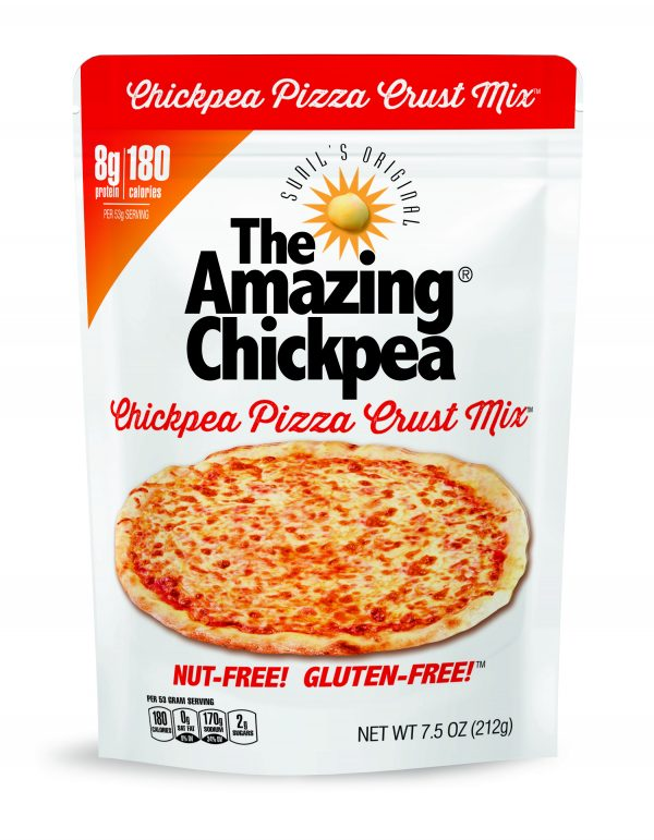 The Amazing Chickpea Pizza Crust Mix