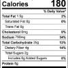 The Amazing Chickpea Pizza Crust Mix Nutrition Facts
