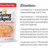 The Amazing Chickpea Pizza Crust Directions